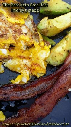 The Best Keto Breakfast in only 5 steps will keep you Healthy and Happy! The Best Keto Breakfast By The Nourished Caveman Step 5