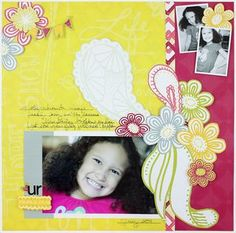 U R Fabulous Be Young Scrapbooking Layout from Creative Memories  http://www.mycmsite.com/traciemooney