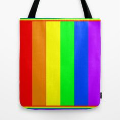 Rainbow Tote Bag by Bruce Stanfield - $22.00