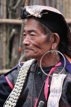 North East India | Portrait of a Shaman (Apatani tribe) in Mudang Tage. Arunachal Pradesh | © Ronnie Dankelman