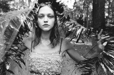 Morning Beauty | Sasha Pivovarova by Yelena Yemchuk