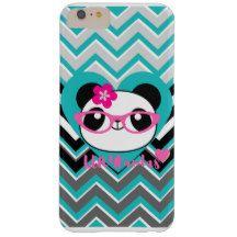 """LUV4Pandas"" Panda Hearts & Love iPhone Plus Case zazzle.com/bliss_harmony"