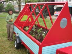 How about mobile allotment planting stations? #urbangardens