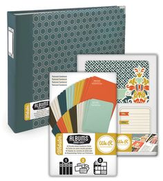Scrapbook.com - Albums Made Easy - Webster Kit at Scrapbook.com $35.99 #albumsmadeeasy #wermemorykeepers Journal Paper, Journal Cards, Scrapbooking Layouts, Scrapbook Cards, Project Life Organization, Life Journal, We R Memory Keepers, Digital Journal, Make It Simple