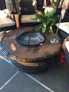 Patio fire pit Patio Design, Fire, Outdoor Decor, Home Decor, Homemade Home Decor, Decoration Home, Patio Ideas, Interior Decorating