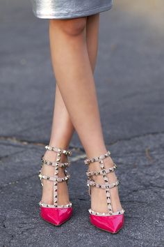 metallic & rockstud