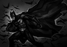 The Dark Knight by *TheBoyofCheese