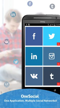 OneSocial - All-In-One Social Networking Mobile App has been exclusively designed and developed for iPhone, Android and Windows Phone 8 platforms. http://sttl.in/onesociala