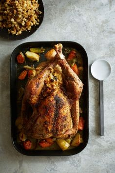 Easy Holiday Turkey with Stuffing