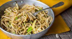 Spaghetti finocchi pinoli e limone