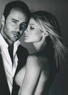 Tom Ford and Carolyn!! Love