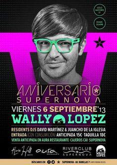 Wally Lopez en Supernova