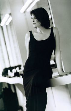 Sigourney Weaver. She can go from being so femininely gorgeous to being able to kick your ass in half a second.