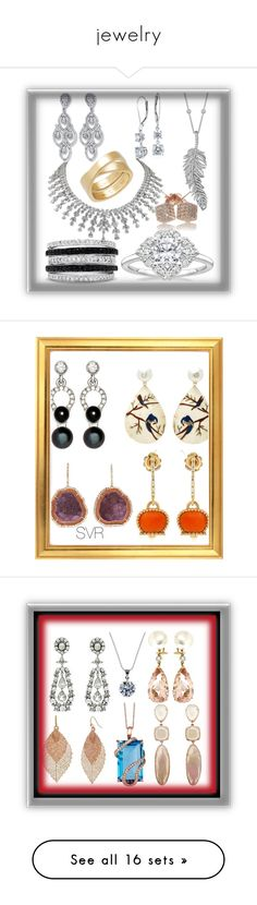 """""""jewelry"""" by svrrvs ❤ liked on Polyvore featuring Effy Jewelry, Penny Preville, Cartier, Blue Nile, Silvia Furmanovich, Nathalie Jean, Chantecler, Kimberly McDonald, art and Stephen Dweck"""