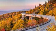 Blue Ridge Parkway in August