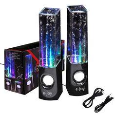 rogeriodemetrio.com: Black Water Dancing Speaker