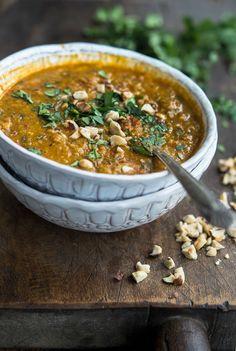 Red Lentil (Vadouvan) Curry Coconut Stew