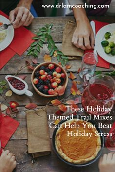 To control what ends up in your holiday themed trail mixes, and pack in as many healthy ingredients in as possible, your best bet is to make them yourself. Health Articles, Health Tips, Health And Wellness, Athlete Nutrition, Roasted Walnuts, Adrenal Health, Holiday Stress, Chronic Stress, Living A Healthy Life