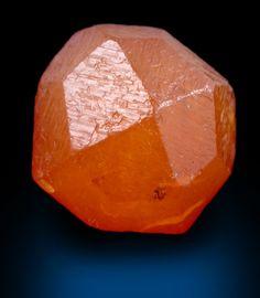 Perfect Orange Spessartine Crystal - The Mineral and Gemstone Kingdom