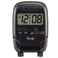 Travel Alarm Clock, Digital Alarm Clock, Accessories Store, Decorative Accessories, Clocks For Sale, La Crosse, Light Works, Clock Decor, Digital Wall
