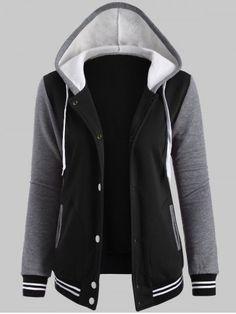 GET $50 NOW | Join RoseGal: Get YOUR $50 NOW!http://www.rosegal.com/plus-size-hoodies/fleece-baseball-hoodie-jacket-821499.html?seid=1424208rg821499