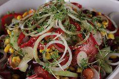 Bunter Salat, ein schmackhaftes Rezept aus der Kategorie Gemüse. Bewertungen: 93. Durchschnitt: Ø 4,3.