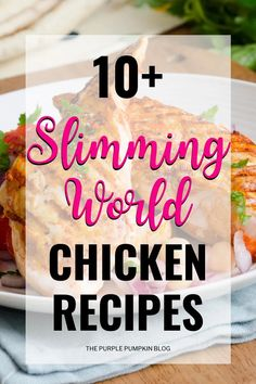 So, you're looking for Slimming World Chicken Recipes? Well, look no further because here are lots of delicious recipes using chicken that are perfect when you are Food Optimising! From chicken curries and chicken stir-fries to slow cooker recipes and easy, fuss-free one-pan tray bakes, the Slimming World friendly recipes you'll find here can be enjoyed by the whole family, and not just those following the SW plan! #SlimmingWorldChickenRecipes #ChickenRecipes #Recipes #ThePurplePumpkinBlog Meat Recipes, Slow Cooker Recipes, Gourmet Recipes, Dinner Recipes, Slimming World Chicken Dishes, Slimming World Recipes, Recipes Using Cooked Chicken, Pumpkin Stew, Chicken Risotto