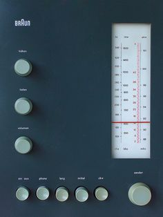Braun RT 20 tube radio by Tuusa, via Flickr