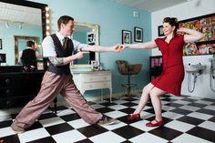 Scott & Naomi Lindy Hop