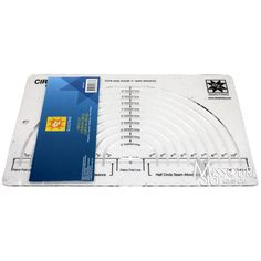 Easy Circle Cut Ruler - EZ Quilting use with 18 mm rotary cutter