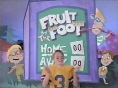 1992 Betty Crocker Fruit By The Foot Commercial