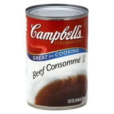 Campbell's Beef Consomm Condensed...
