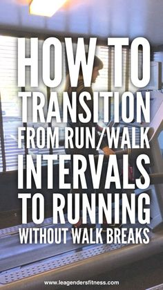 How to Transition from Running/Walking Intervals to Running hate running, running pace, half marathon quotes funny Running For Beginners, How To Start Running, Running Tips, Running Training, How To Run Faster, Running Humor, Running Plans, Race Training, Running Motivation