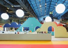 AECCafe.com - ArchShowcase - JETRO's exhibition booth for the Maison international trade fair in Paris, France by Torafu Architects