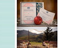 Real Wedding - Blush Paperie, Annie & James (Featured on Style Me Pretty)
