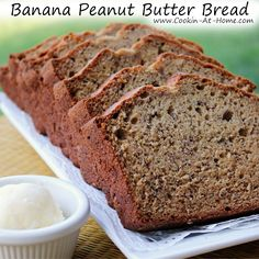 Banana Peanut Butter Bread5:28 AM Posted by Sandy BarretteNoCommentsBanana Peanut Butter Bread