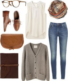 Autumn hipster outfit