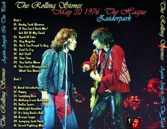 Rolling Stones, Zuiderpark, The Hague, The Netherlands 30 May 76. went with my father to the park, we didn't have tickets but got a feel of the atmosphere. 10 years old, my first R&R experience..I never recovered!!