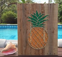 A personal favorite from my Etsy shop https://www.etsy.com/listing/223484499/handmade-pineapple-with-rope-beach