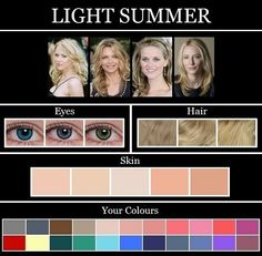 Ooh Très Chic: THE SKIN TONE SEASONS: SUMMER