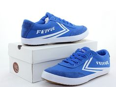 Feiyue A.S Sneakers, Feiyue Blue Low Top Sneakers, Canvas Sneakers @ ICNbuys.com http://www.icnbuys.com/feiyue-as