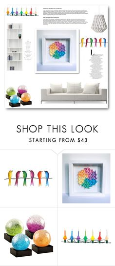 """""""SloPaperStuffs 7"""" by belmina-v ❤ liked on Polyvore featuring interior, interiors, interior design, home, home decor, interior decorating, NOVICA, Cool Snow Globes and Christopher Radko"""