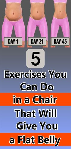 fitness workout for women 5 Exercises You Can Do in a Chair That Will Give You a Flat Belly Fitness Workout For Women, Health And Fitness Tips, Health Tips, Health And Wellness, Health Benefits, Workout Men, Men Health, At Home Workout Plan, At Home Workouts