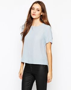 Vila Vifia Loose Fit T-Shirt With Short Sleeve