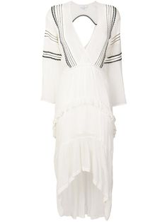 d990a9227efa Iro Long Embroidered Dress - Farfetch