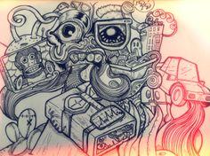 Free Illustration by Gertjan Kooy, via Behance