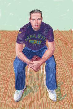 David Hockney -Jamie McHale 2008