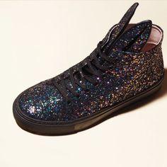 Baskets Bunny glitter, @minnaparikka #VuAuBonMarche #LeBonMarche #shoes #mode #femme #fashion #women