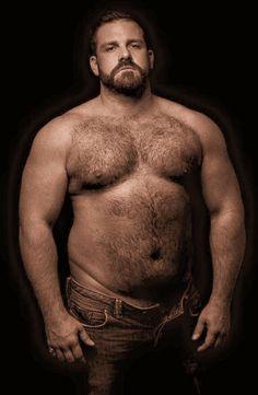 Massive hirsute chub bear and daddy have some pleasure