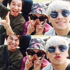 Seungri's IG with Daesung + GD (150519)